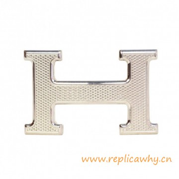 Original Design Guillochee H Buckle with Buckle Box