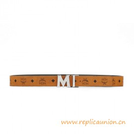 Best 1:1 Quality Claus Reversible Belt with an Iconic 'M' Buckle