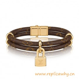 Original Quality Keep it Twice Monogram Canvas Bracelet