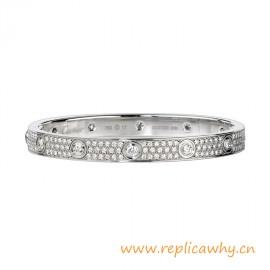 Original Design Love Element Bracelet with All Diamonds