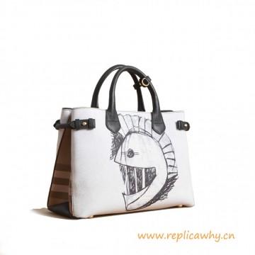 Original Design Used Leather with Pallas Helmet Motif