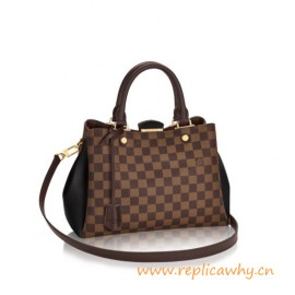 Original Brittany Handbag with Cuir Taurillon Calfskin Leather
