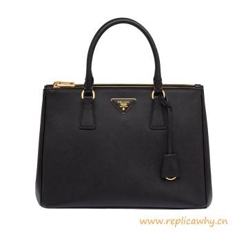 Original Design Galleria Saffiano Calfskin Leather Handbag