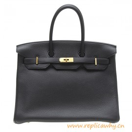 Original Design Clemence Calfskin Leather 35CM Handbag