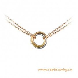 Original Design Trinity Necklace Symbolize Love for Women