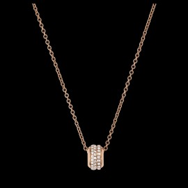 Original Pendant in 18K Rose Gold Set with 66 Brilliant-cut Diamonds