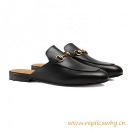 Sandalias de cuero de Princetown de las mujeres de calidad superior