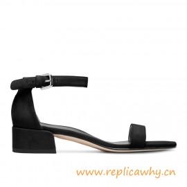 """Nudistjune Flat Sandals Heel Height: 1.6"""", 40mm"""