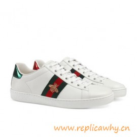 Original Quality Ace Embroidered Bee Low-top Sneaker