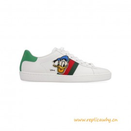 Top Quality Ace Donald Duck Leather Sneakers