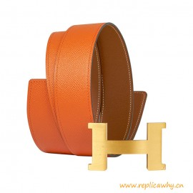 Top Quality 42mm Constance Reversible Epsom Leather Belt