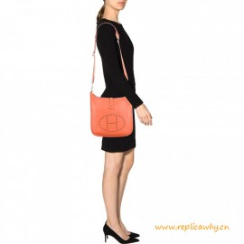 Top Quality Togo Leather Evelyn Messenger Shoulder Bag