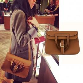 Top Quality Halzan Leather Bag with Adjustable Shoulder Strap