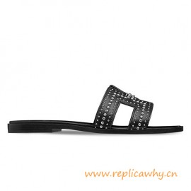 Top Quality Original Limited Oran Sandals with Palladium Plated Rivets