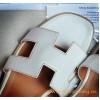 Top Quality Original Design Oran H Sandals Calfskin Leather Slippers