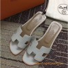 Original Authentic Quality Oran Sandals Calfskin Leather Slippers