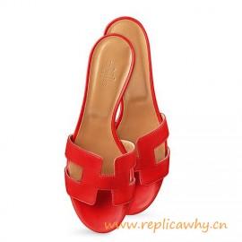 Original Oasis Sandalias de color rojo para Mujer