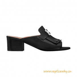 Top Quality Alma Sandal in Goatskin with Fringe Detail
