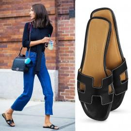 Auténtico diseño de calidad sandalias oran sandalias de cuero