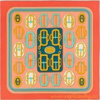 Original Design H Bouclerie Moderne Silk Scarf