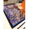 Original Design H L'Arbre du Vent Silk Scarf