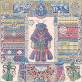 Original Design Parures de Samourais Silk Scarf