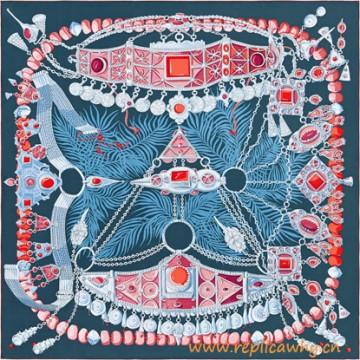 Original Design Parures Precieuses Giant Silk Scarf