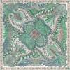 Original Design H Le Jardin de la Maharani Silk Scarf