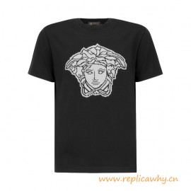 Original Quality Medusa Graphic Cotton T-Shirt