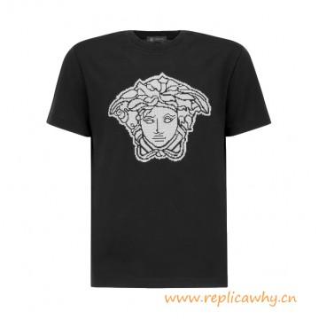 Original Quality Medusa Graphic Cotton T-Shirt
