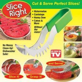 Slice Right Fruit Slicer Cut and Serve Perfect Slices
