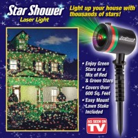 Star Shower Laser Light Up Your House with Thousands of Stars